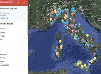 La mappa degli incendi!